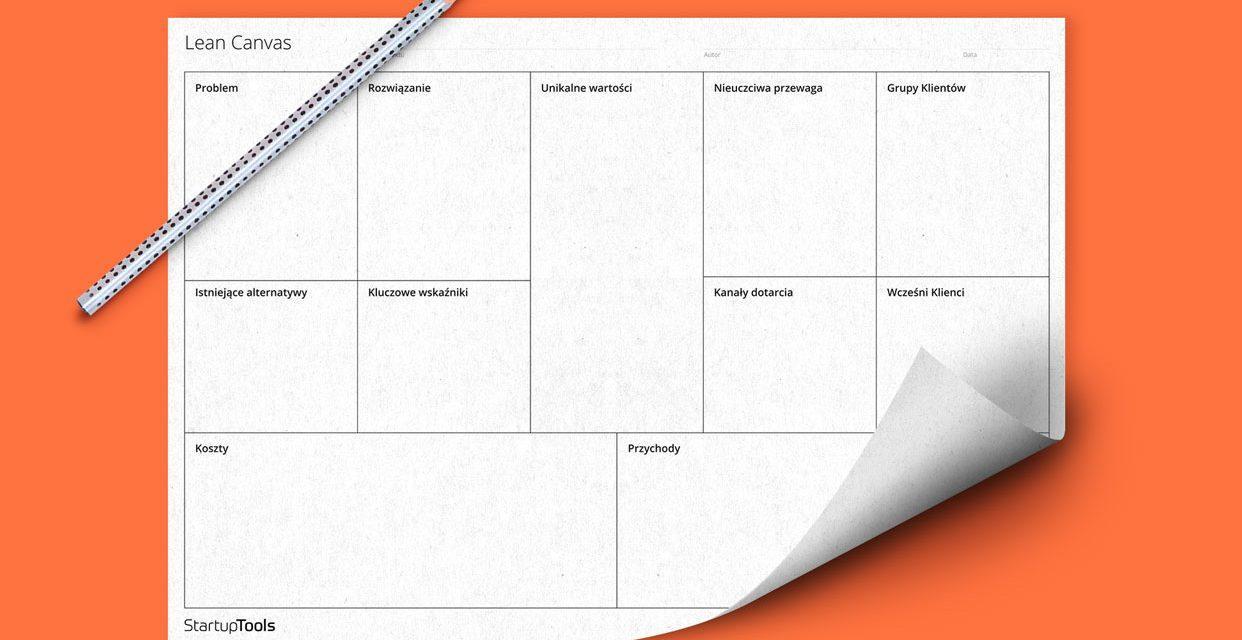 Metoda Lean Canvas, czyli szybki biznesplan